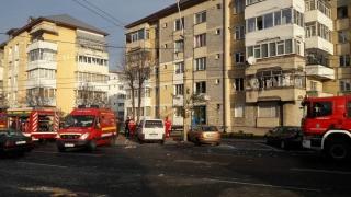Explozie puternică într-un bloc! 20 de persoane au fost evacuate