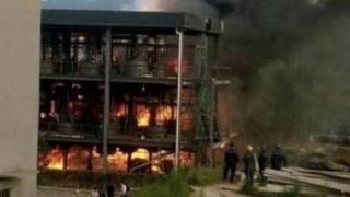 Mai multe persoane ucise, într-o explozie la o uzină chimică din China
