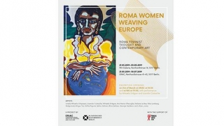 "Expoziția de artă contemporană ""ROMA WOMEN WEAVING EUROPE"""