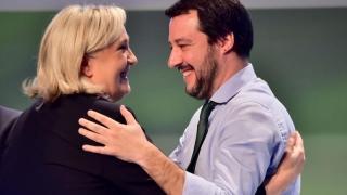 """Extremiştii francezi şi italieni atacă """"buncărul de la Bruxelles"""""""