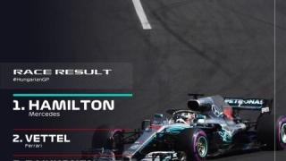 Al cincilea succes al sezonului pentru Lewis Hamilton