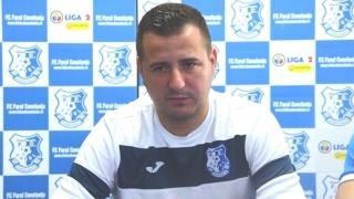Ianis Zicu, nemulţumit de joc şi de rezultat