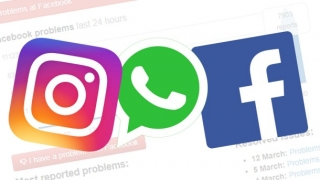 Facebook, Instagram şi WhatsApp au picat în România