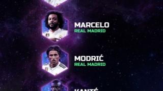 Fanii au stabilit echipa anului 2018 pe site-ul UEFA
