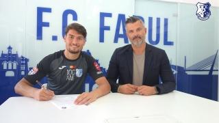 Portarul Ștefan Fara, noul jucător al FC Farul