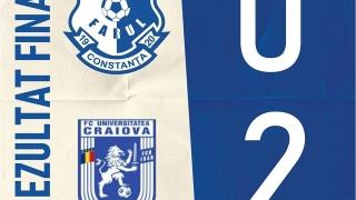 Înfrângere pentru FC Farul şi în partida cu FC U. Craiova 1948