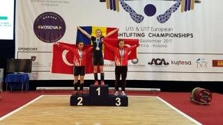 Farista Bianca Dumitrescu, campioană europeană la haltere