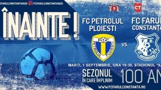 Meciul Petrolul - FC Farul a fost programat în prima zi de toamnă