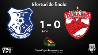 Farul, prim pas spre semifinale în Supercupa #jucămdeacasă