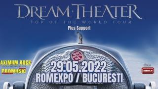 Dream Theater va susține un concert în România