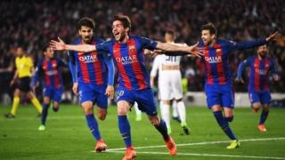 Peste 30.000 de suporteri vor rejucarea meciului FC Barcelona - Paris Saint-Germain