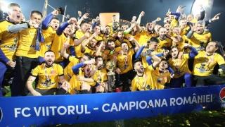 FC Viitorul este campioana României şi la TAS