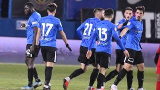 FC Viitorul - FC Hermannstadt 2-1, în etapa a 12-a din Liga 1