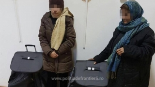 Două femei afgane, depistate la graniţă într-un tren, ascunse în geamantane