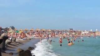 Fenomen ciudat pe plajă!