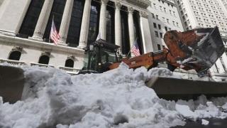Iarna EXTREMĂ în SUA. Temperaturi foarte scăzute!