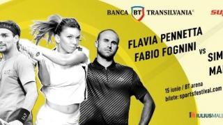 Halep, Pennetta, Copil și Fognini vor participa la Sports Festival, la Cluj-Napoca