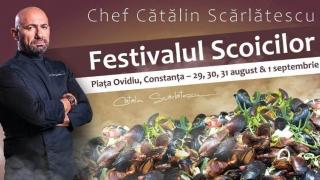 Festivalul Scoicilor revine în Piața Ovidiu din Constanța