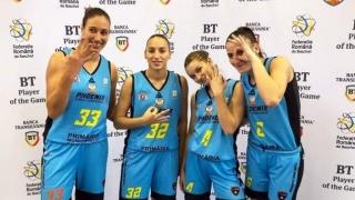 CS Phoenix-Ştiinţa, pe locul 3 în Cupa României 3x3 la baschet feminin
