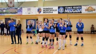A cincea victorie consecutivă pentru voleibalistele de la CS Medgidia
