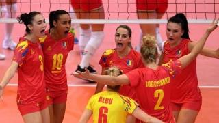 România a învins Ungaria, la CE de volei feminin