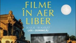 Filme în aer liber! De neratat! Până pe 12 august, pe faleza Cazino