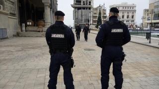 Fiți fără grijă! Jandarmii păzesc... Bac-ul!