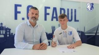 Un component al naționalei României sub 18 ani va evolua la FC Farul