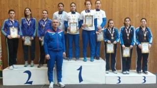 Floretistele de la CS Farul, medaliate cu bronz la CN pentru tineret