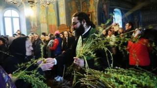 În Duminica Floriilor, aproape 1,4 milioane de români își serbează onomastica