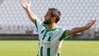 Florin Andone a marcat două goluri în meciul Deportivo La Coruna - Las Palmas