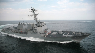 O navă americană a tras focuri de avertisment în direcția unui vas iranian în Golful Persic