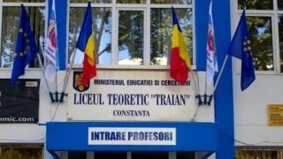 """Educația gratuită costă 100 de lei la Liceul Teoretic """"Traian""""!"""
