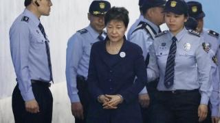 Fosta președintă din Coreea de Sud, în instanță pentru deturnare de fonduri