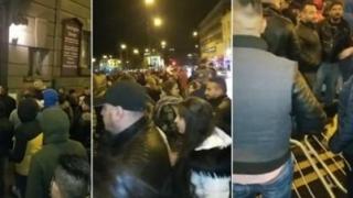 Bătaie între români, în noaptea de Înviere, la o biserică din Birmingham