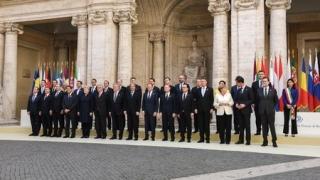 Liderii UE își reînnoiesc la Roma angajamentul în Uniunea Europeană