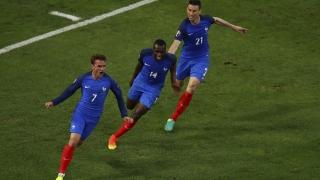 Franţa câştigă cu noroc şi cu Albania