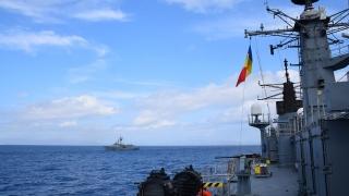 """Fregata """"Regele Ferdinand"""" participă la misiuni în Marea Mediterană"""