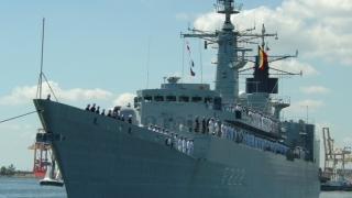 """Fregata """"Regina Maria"""" a încheiat acțiunile de căutare a persoanelor dispărute în Marea Neagră"""