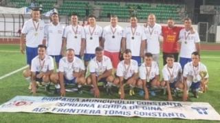 Frontiera Tomis Constanţa, aur la Cupa României la oină