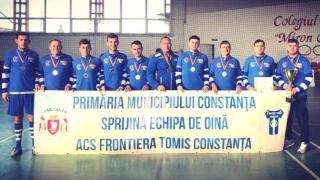 Frontiera Tomis Constanţa, campioană naţională la oină în sală