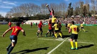 """Înfrângere pentru """"stejari"""" în Rugby Europe Championship"""