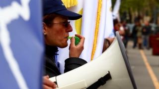 Funcționarii publici anunță proteste după Paște