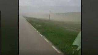 România, lovită de un nou fenomen extrem: o furtună de nisip!