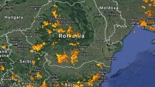 Furtuni în toată țara. În Dobrogea sunt posibile averse