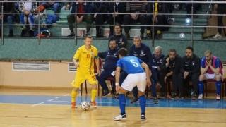 Două înfrângeri pentru România la fotbal în sală