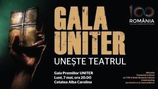 Gala Premiilor UNITER unește Teatrul!