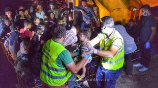 Călăuzele celor 154 de migranți sosiți în Portul Midia au ajuns după gratii