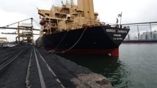 Migranții algerieni au fugit de pe nava din Port, unde iscaseră un incendiu