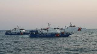 Garda de Coastă a prezentat bilanțul pentru 2020: vieți salvate, zeci de containere cu deșeruri oprite, sute de infracțiuni constatate
